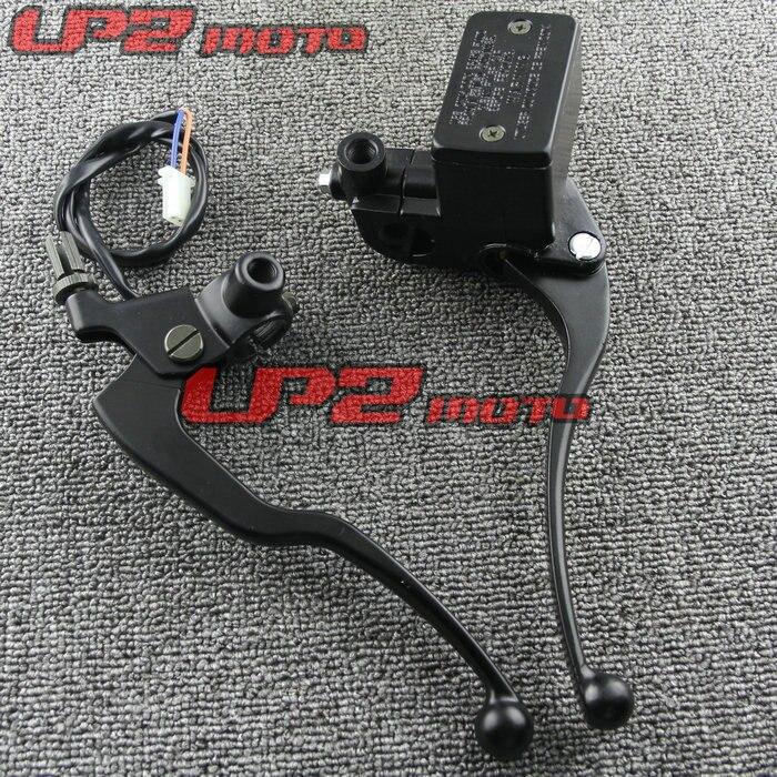 Adecuado para SUZUKI GZ250 99-11 GN250 85-01 bomba de freno embrague asiento cuerno mango de freno cilindro maestro
