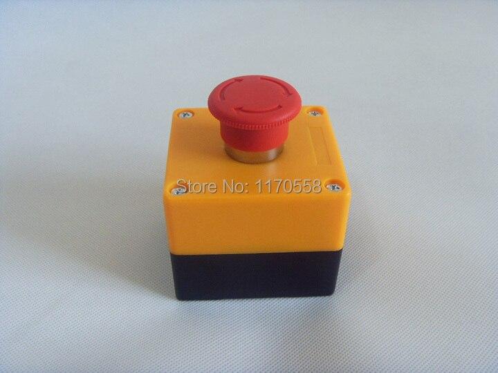 E-stoppschalter, höchste qualität silber kontakte not-aus-schalter 1NO + 1Ö schütze