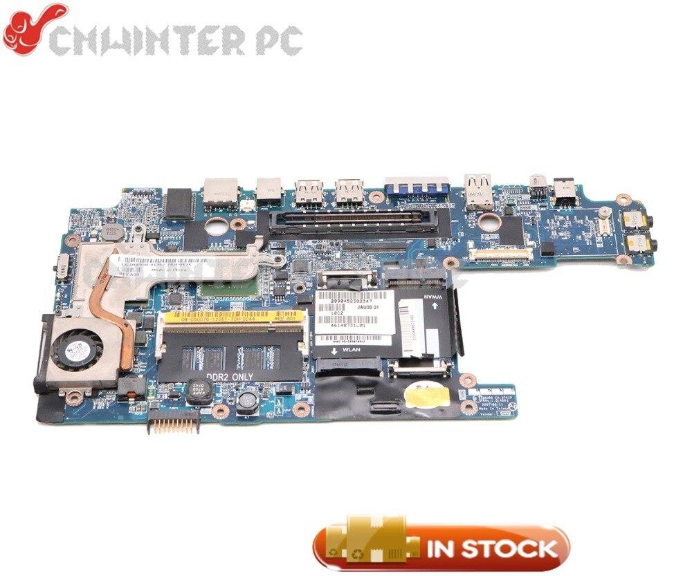 NOKOTION JAU00 LA-3741P CN-0DU076 D430 0DU076 Para Dell Latitude Laptop Motherboard 945GSE U7600 CPU DDR2