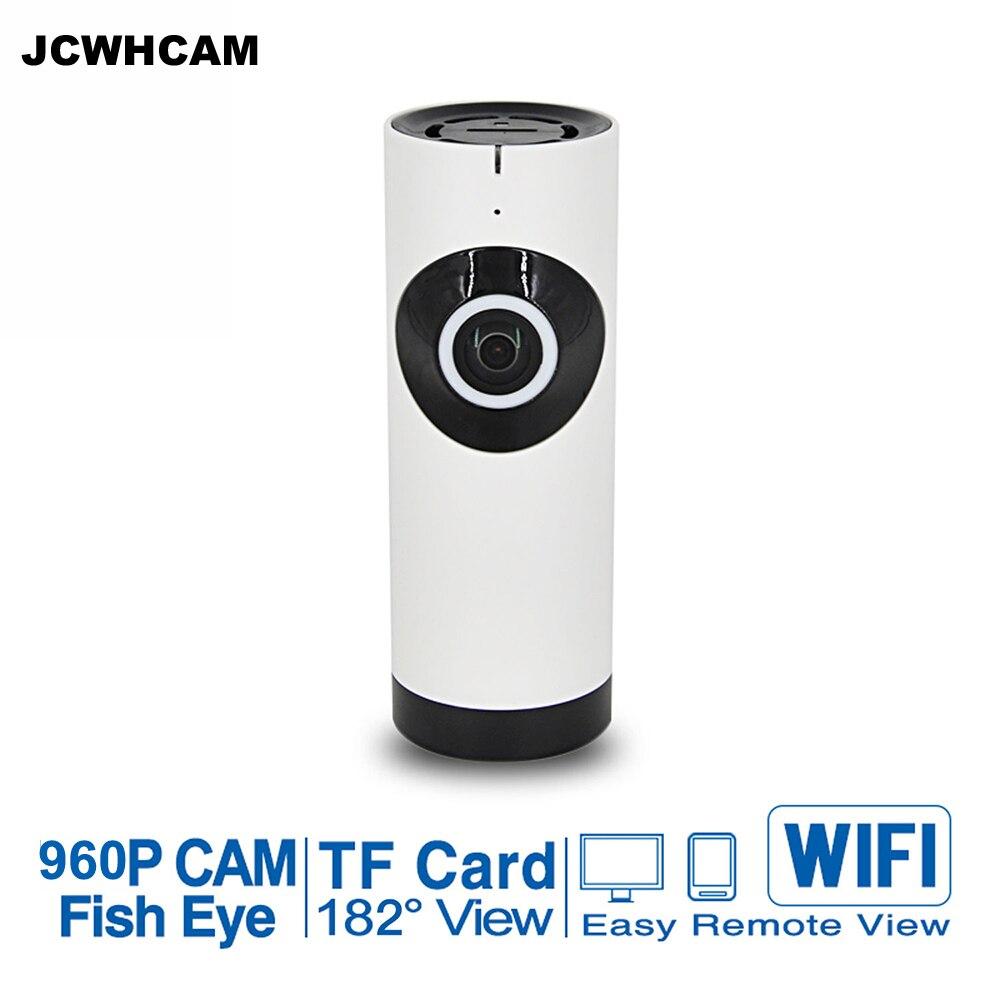 Камера видеонаблюдения JCWHCAM 720P 960 P, домашняя камера безопасности, Wi-Fi, IP, инфракрасная камера ночного видения, камера «рыбий глаз» 960 P, смартф...
