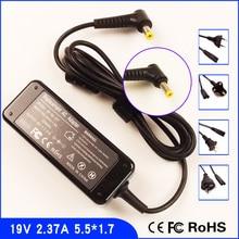 AJEYO 19V 2.37A ordinateur portable adaptateur chargeur pour Acer Aspire V3-371 V3-111P E5-475 V5-131 ES1-531 F5-571 F5-571T R3-131T R3-431T