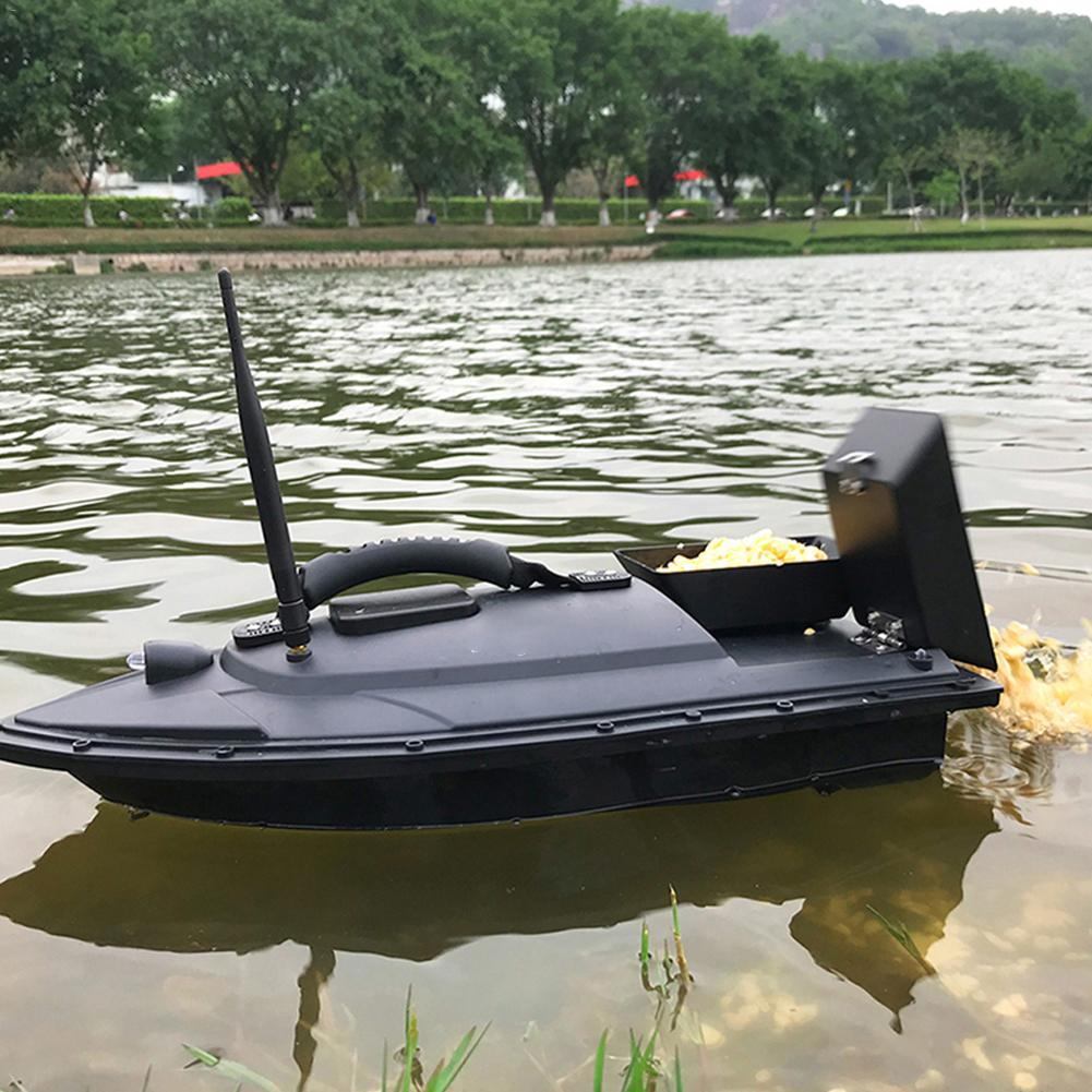 Flytec 2011-5 Fishing Tool Smart RC Bait Boat Toy Digital Automatic Frequency Modulation Remote Radio Control Device Fish Toys enlarge