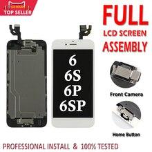 LCD complet pour iPhone 6 6S Plus affichage LCD écran tactile numériseur assemblée remplacement écran complet avec bouton accueil + appareil photo