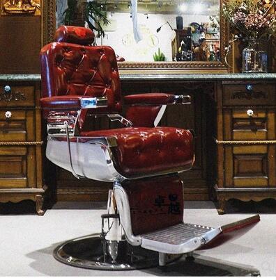 Dddafe-كرسي عتيق عالي الجودة لصالون تصفيف الشعر ، كرسي تصفيف الشعر ، VIP