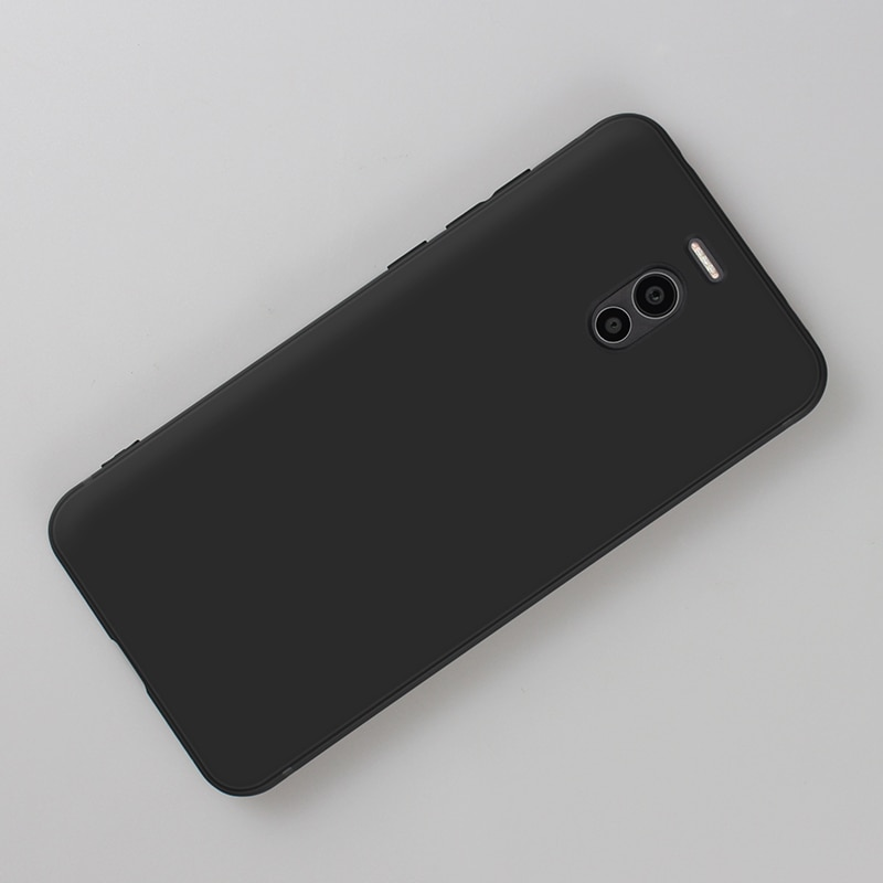Black Phone Case For Meizu M5S M5C Note 16th 16 Plus 16X X8 X 8 Note 8 M6 M5 Note Shockproof Capa Ma