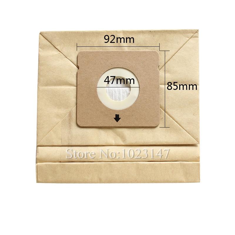 10 pieces/lot Vacuum Cleaner Dust Bags Paper Filter Bags for Rowenta RO5227 ZR0039 RO1717 RO1733 RO1751 etc.
