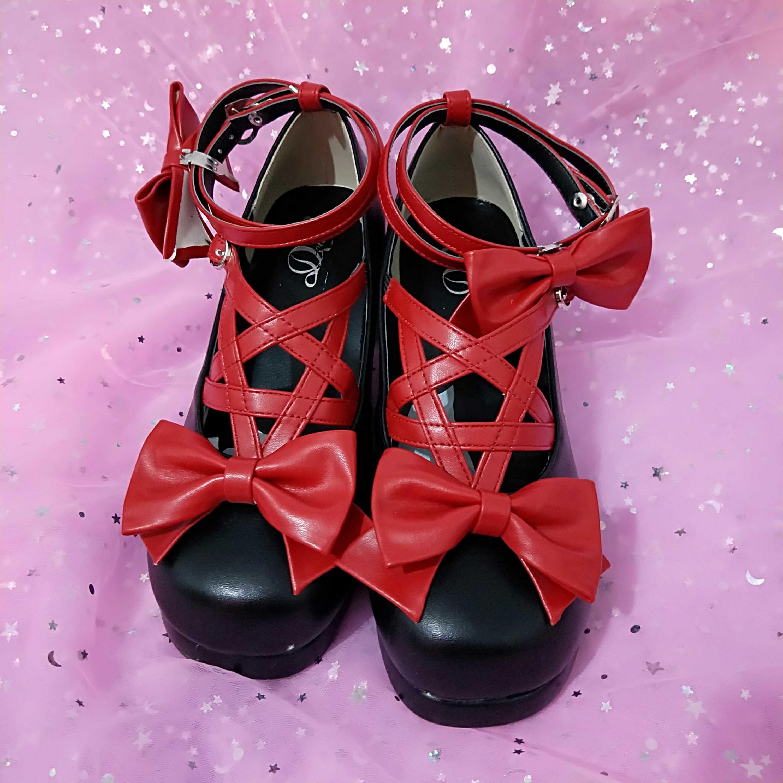 Aurora/летние босоножки на среднем каблуке в стиле Лолиты, сандалии, лето 2019 Женская обувь с ремешком и пряжкой