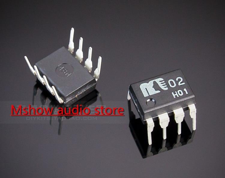 2 PCS New Original MUSES02 Dual-OP amp OP AMP atualização para o seu ES9028 ES9038 ES9038PRO HIFI ES9018 DAC