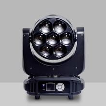 Zoom lumière principale mobile 7X40 LED lumière principale DMX éclairage détape chine