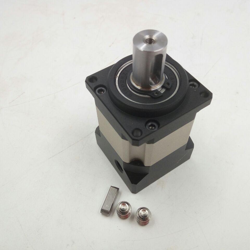 Ratio de velocidad 40 1 reductor planetario 42mm NEMA17 reductor de caja de cambios, par máximo de salida 21N. m, retroceso menor a 16arcmin