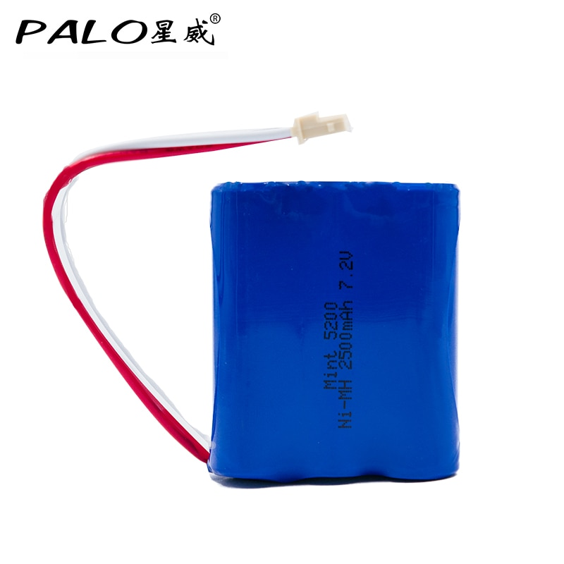 ¿Ni-MH 7,2 mAh 2500 V respetuosos con el medio ambiente Robotcleaner pack de batería recargable para iRobot 380 mint5200 5200c 380 t, etc.?