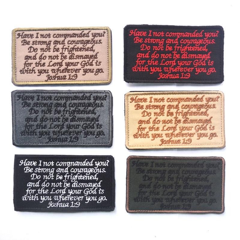 Рюкзак жакет JOSHUA 1:9 GOD с вами, армейский, черный, OPS, патч, США, крепеж, лесный знак, Мультикам, страйкбольный пластырь, рюкзак жакет