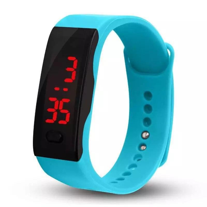 Reloj deportivo, novedad de 2019, reloj Digital LED a la moda, relojes de pulsera para hombre, reloj de pulsera informal de silicona para mujer, reloj Dropshipping