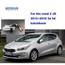 Yessun Car rear Camera For kia ceed 2 JD 3d 5d hatchback 2012~2018 Car Rear View camera licenseFor kia ceed rear camera