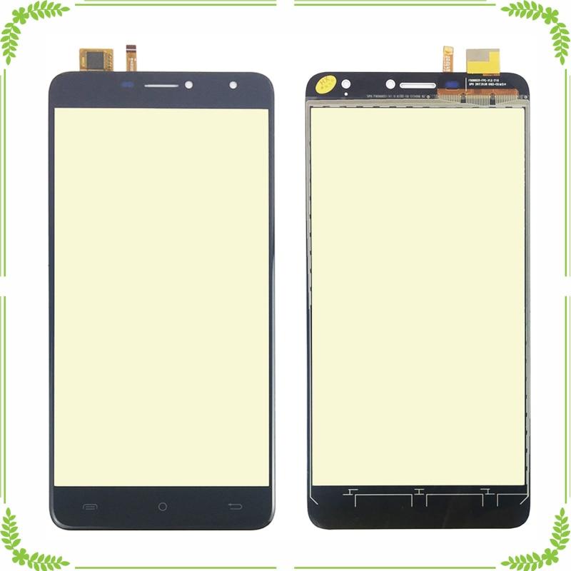 Panel de Digitalizador de pantalla táctil de teléfono móvil para Doogee X7 X7 pro Sensor de pantalla táctil Pantalla táctil frontal sin pantalla LCD
