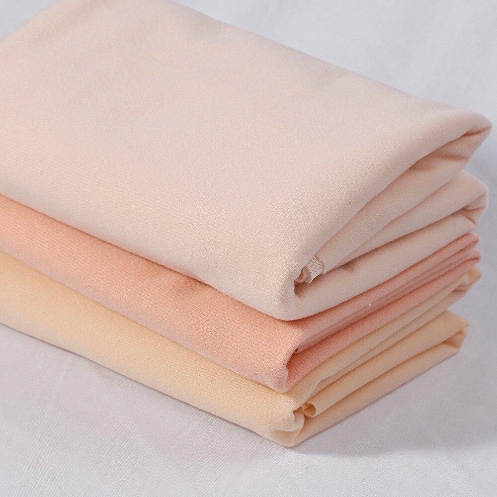 3 uds 25*25cm Tilda color carne DIY para muñecas piel textil tejido 100% fibra de alta densidad Tissus Costura Patchwork hecha a mano Costura