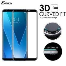 Verre trempé 3D à couverture complète incurvée pour LG velours V30 V30S V35 V40 V50 V50S G8X G8 G7 Plus ThinQ 5G Film de verre protecteur décran