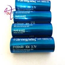 Liter energy battery 10PCS 3.7V 3100MAH rechargeable 18650 vtc6 30A Electronic cigarette toys tools flashlight Laptop Batteries