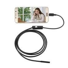 5.5 Mm 1/1.5/2/3.5/5M Focus Camera Lens Usb-kabel Waterdichte 6 Led Mini Usb Endoscoop Inspectie Camera Voor Android Drop verzending