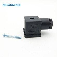 1pc Plug Magneetventiel Connector DIN43650 A/B/C Solenoid Coil Connector Voor Klep Spoel Solenoid connctors