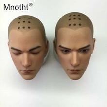 Asura personnage modèle moine tête sculpter 16 échelle mâle soldat résine tête sculpture pour 12 pouces figurine jouets Collection Mnotht