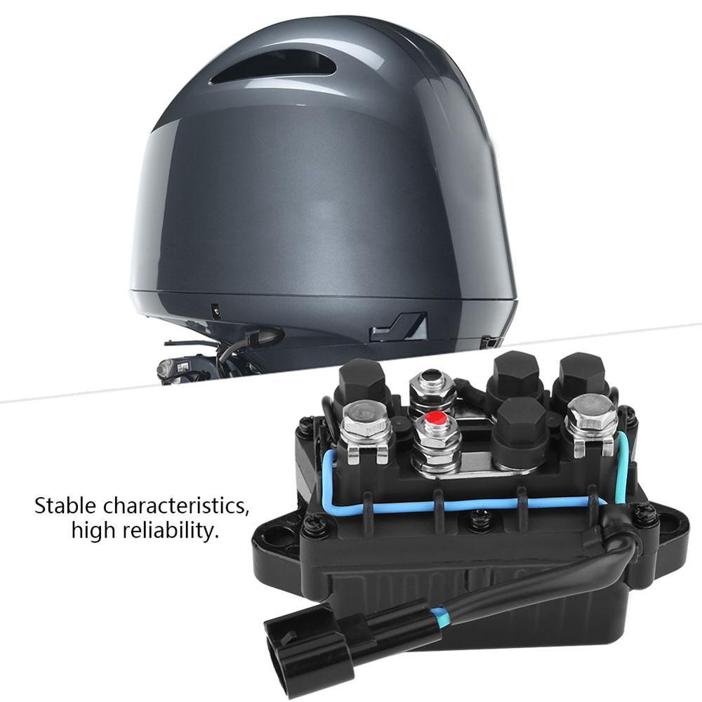 Relé embellecedor para motor fueraborda Yamaha de 4 tiempos F150 250 63P-81950-00-00 relé embellecedor fuera de borda