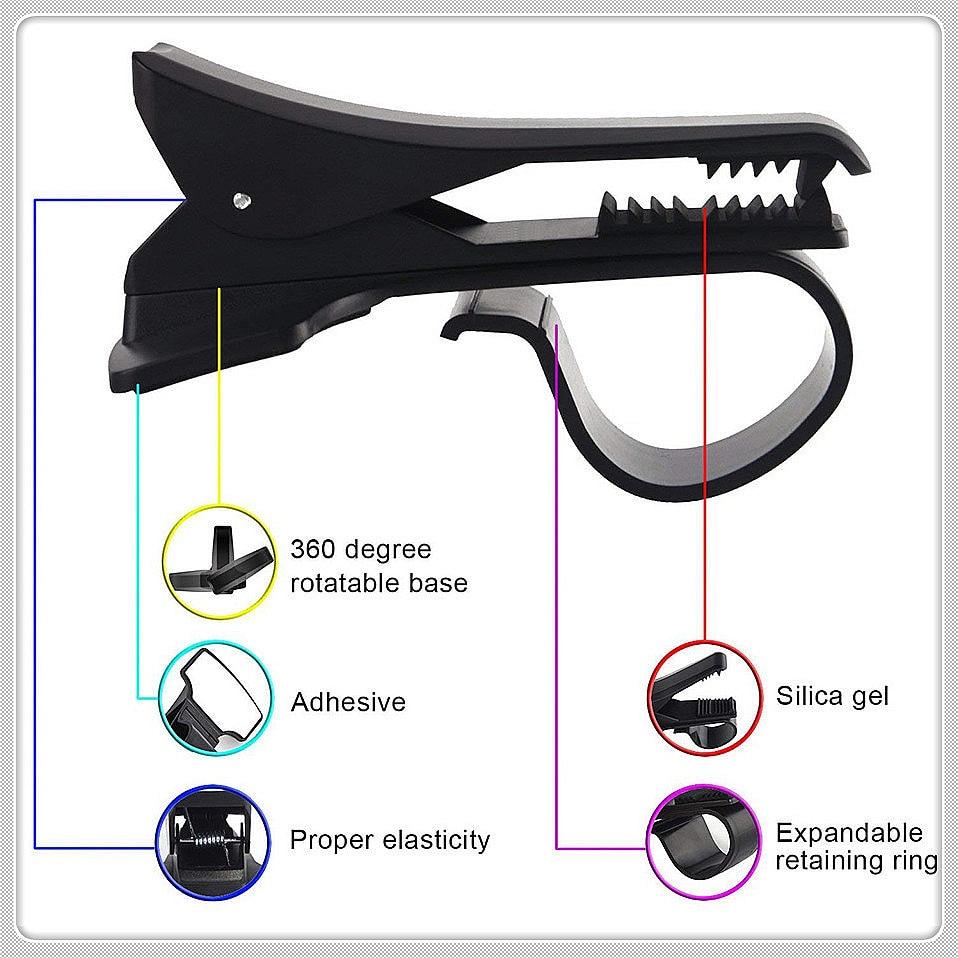 Автомобильный держатель для телефона на магните с креплением Infiniti G37 FX50 FX37 FX35