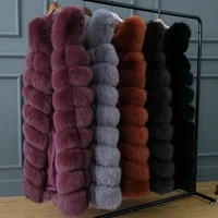 jkp winter womens jacket real fox fur coat female natural fur coat furry high quality hot new warm outdoor fashion