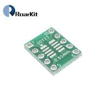 10 stücke SOT23 MSOP10 Adapter Platte SMD Zu DIP10 Pinnwand UNAX 0,5mm/0,95mm Zu 2,54mm PCB