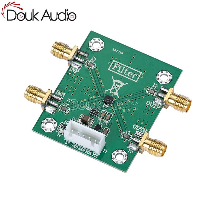 HMC1044LP3E قابل للبرمجة متناسق RF مرشح تمرير منخفض وحدة المجلس 1-3GHz 20dB