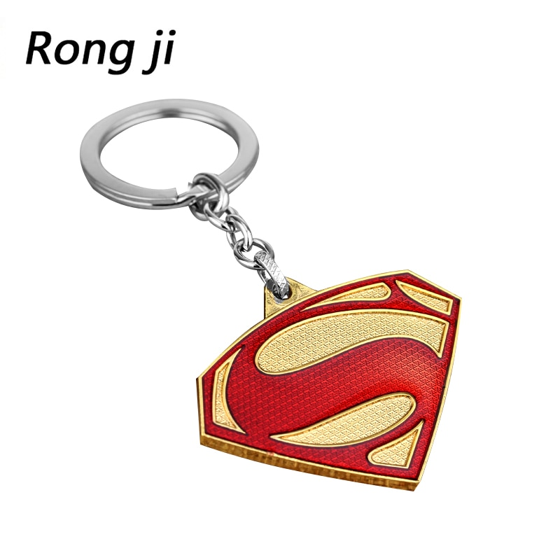 Superman S logo charme Keychain männer und frauen mode Anhänger Avengers 4 schmuck auto schlüssel Zubehör