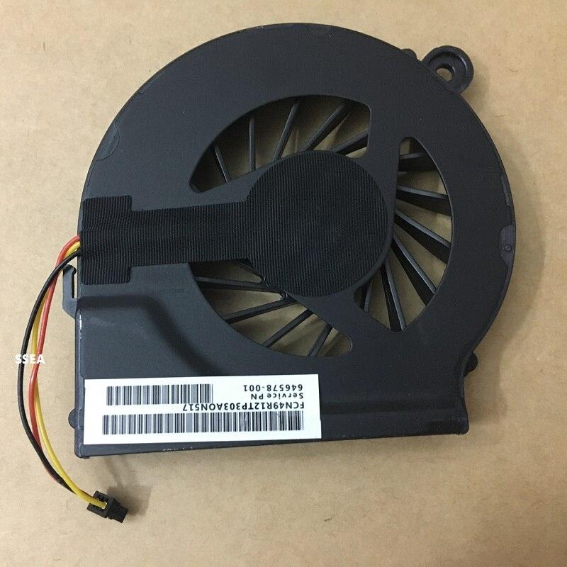 SSEA Neue CPU Kühler Lüfter 3 Pin für HP Compaq CQ42 G42 CQ56 G56 G4-1000 CQ62 G7 G6 G4 G4t G6t G7t G7-1248SF G7-1249SF
