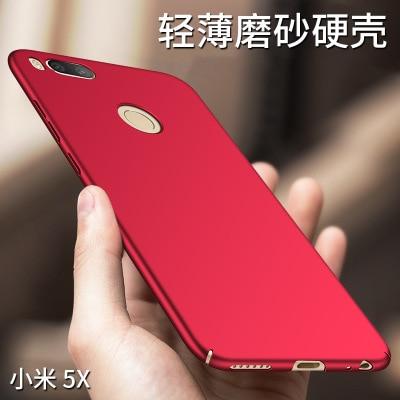 Caixa Do Telefone Para Xiaomi Mi A1 Mi5X IMI Coque Duro PC Fino Fosco casos Protetora Da Pele tampa Traseira para xiaomi mi 5x cobertura completa shell