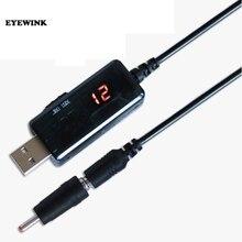 Usb 부스트 컨버터 dc 5 v ~ 9 v 12 v usb 스텝 업 컨버터 케이블 + 전원 공급 장치/충전기/전력 변환기 용 3.5x1.35mm 커넥터