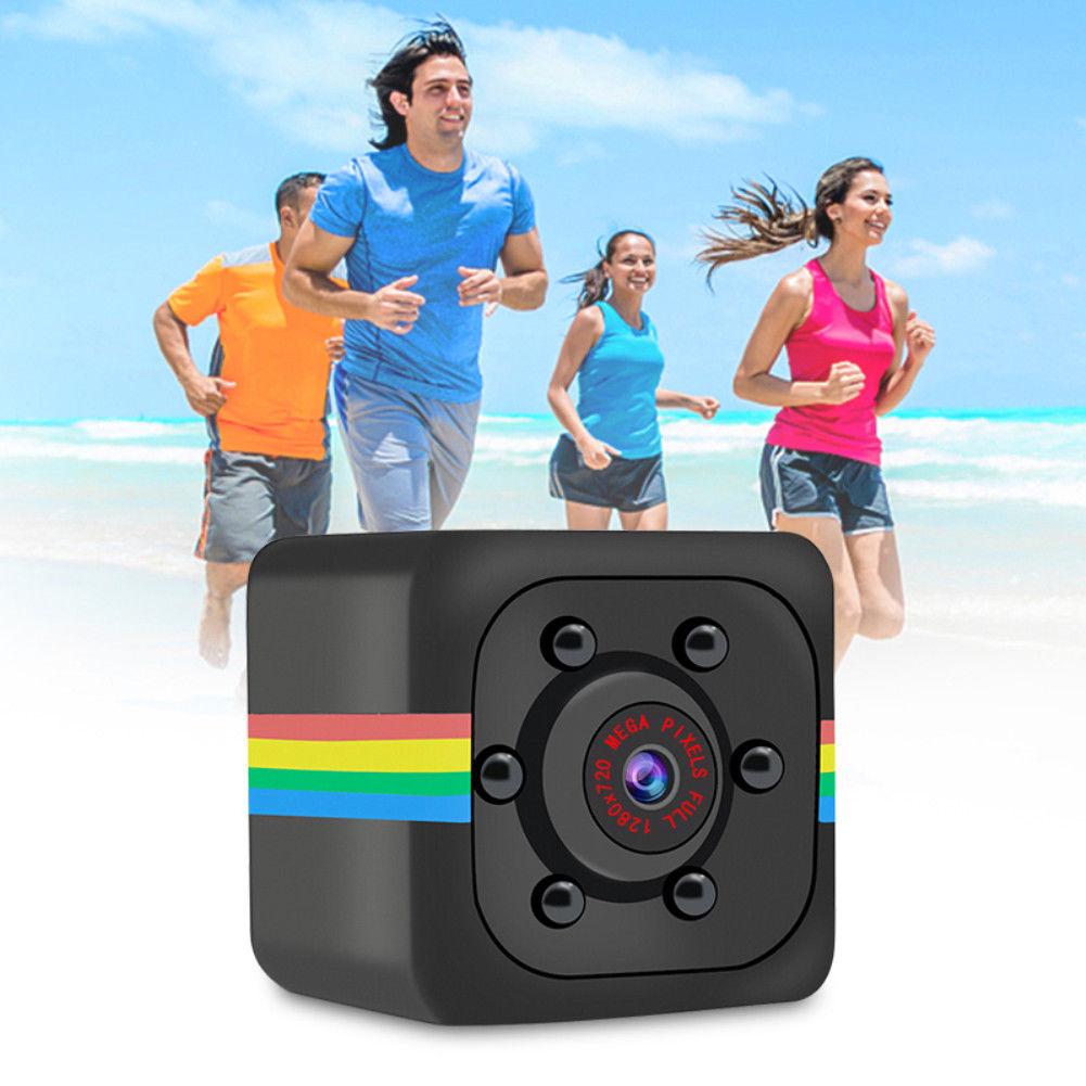8 GB Card + SQ11 Mini Câmera Filmadora HD Night Vision 720 P Mini DV Voz Recorde Vídeo DO1