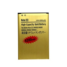 Batterie N9000 pour Samsung Galaxy Note 3 N9005 N900A N900 N9002 N9008 N9009 piles rechargeables liion accumulateur sur le téléphone