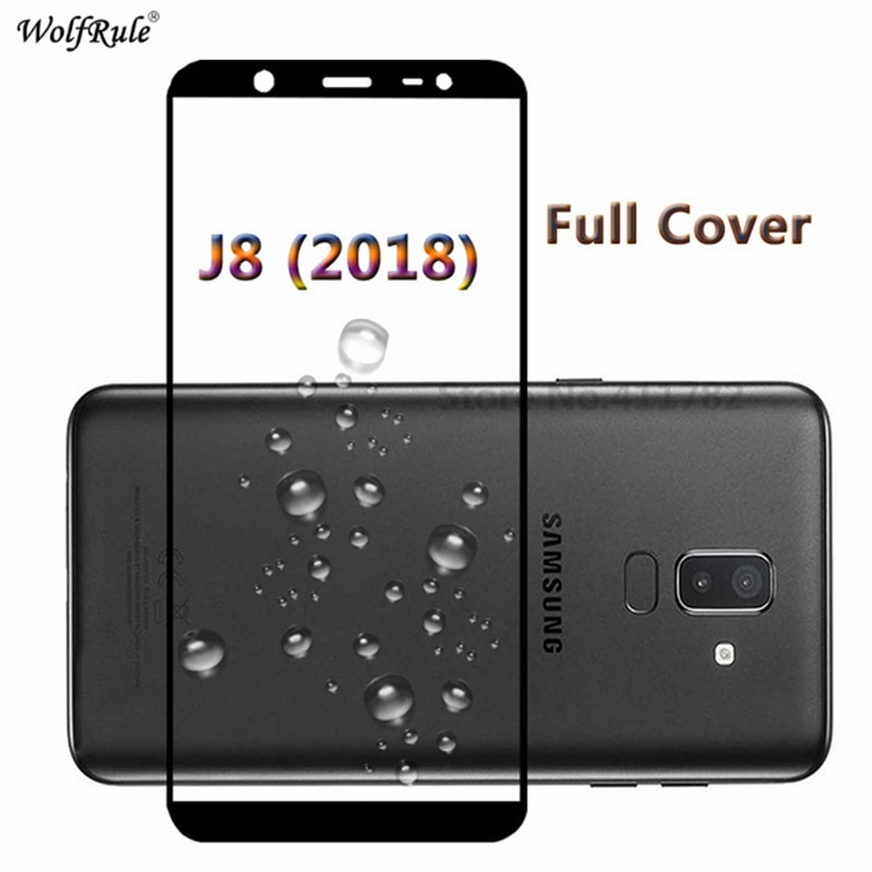 For Samsung Galaxy J8 2018 Glass Tempered Glass Toughened Full Cover Protective Screen Protector For Samsung Galaxy J8 2018 Film