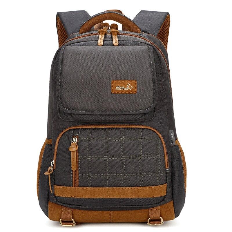 حقائب مدرسية ذات سعة كبيرة للمراهقين ، حقيبة ظهر للكمبيوتر المحمول عالية الجودة للرجال ، حقيبة مدرسية لتقويم العظام ، للسفر