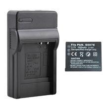 Batterie + chargeur pour Panasonic Lumix CGA-S007E DMC-TZ5 DMC-TZ4 DMC-TZ3 TZ2 ROYAUME-UNI