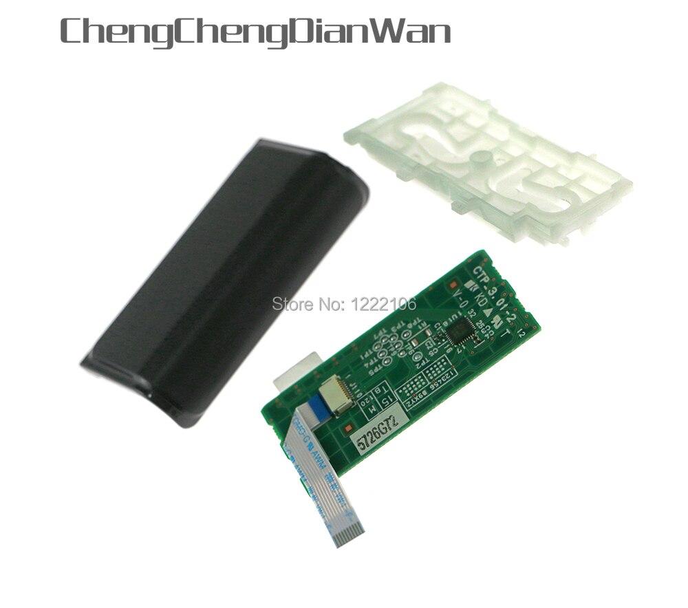 ChengChengDianWan conjunto completo JDS-030 para ps4 playstation 4 controlador inalámbrico TouchPad Junta módulo PCB 10Pin flexible Cable de cinta