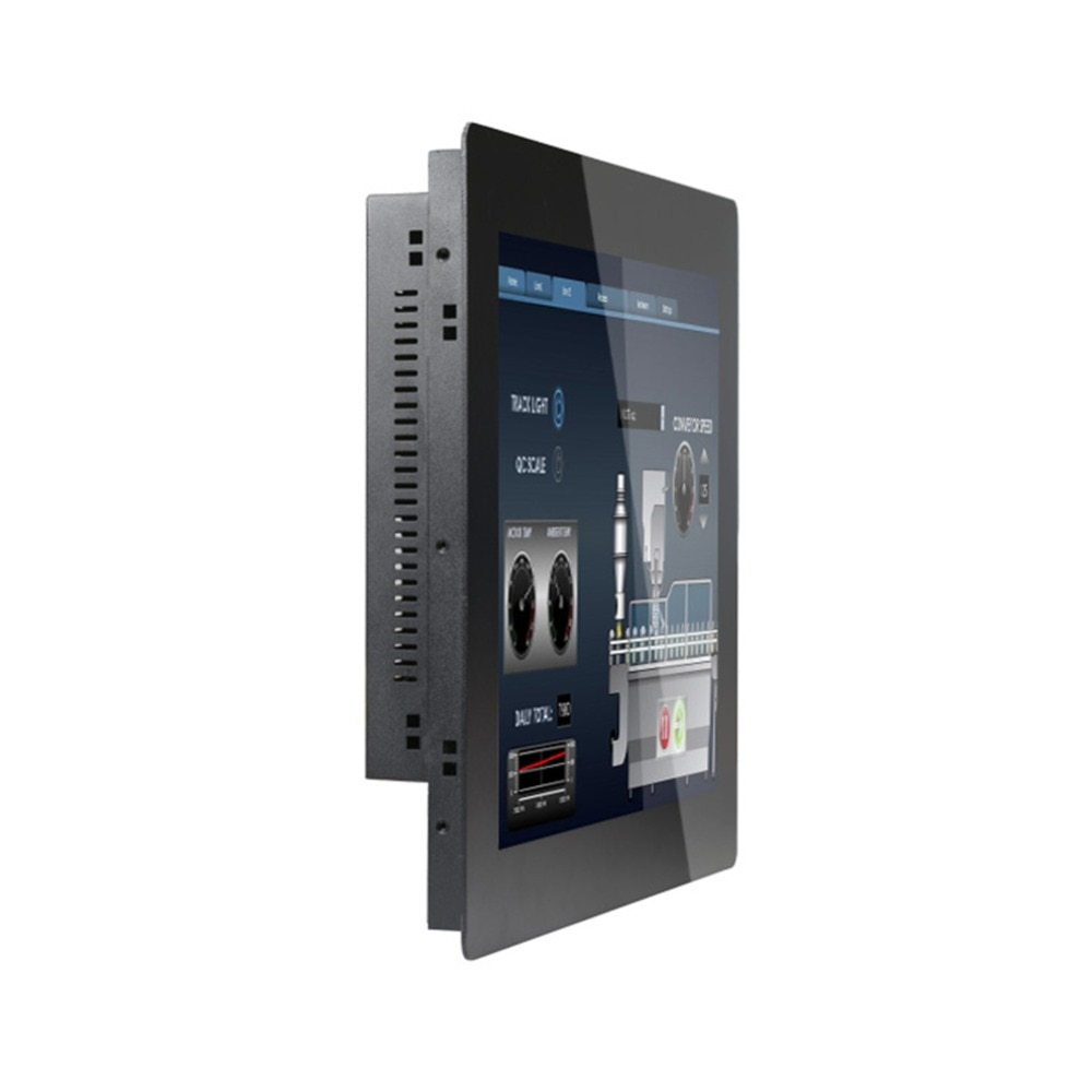 Touch Screen All In One PC With 19 Inch 2MM Panel Intel Core I7 3537U Made-In-China 5 Wire Resistive Touch Screen enlarge