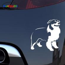 HotMeiNi Car Styling Australian SHEPHERD Car Sticker Decal Dog Pet Animals Car Stickers And Decals 12.5*12.5CM