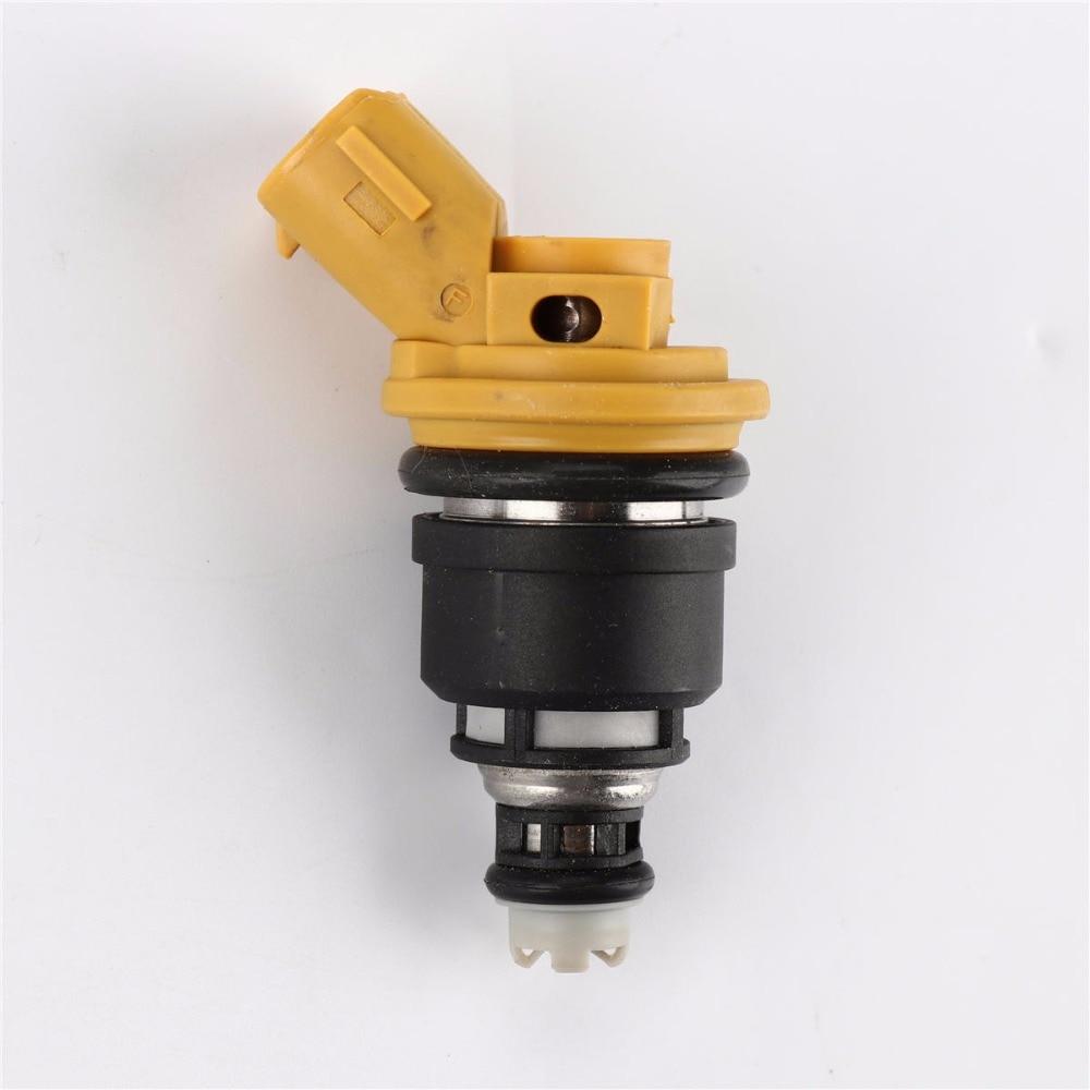 New 4pcs 550cc Yellow Side Feed Injector For Subaru STI WRX GC8 16600-AA170