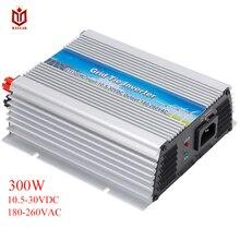 MAYLAR-grille solaire @ 300W   Mini onduleur à onde sinusoïdale Pure avec MPPT, 10,5-28vdc, 50Hz/60Hz automatiquement, 180-260VAC