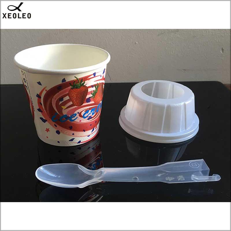 XEOLEO MC Flurry чашка для мороженого/крышка/Ложка 1000 набор