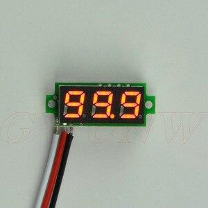 GWUNW BY328V  DC 0-100V 3 bit  digital Mini voltmeter Panel Meter Voltage Tester Meter