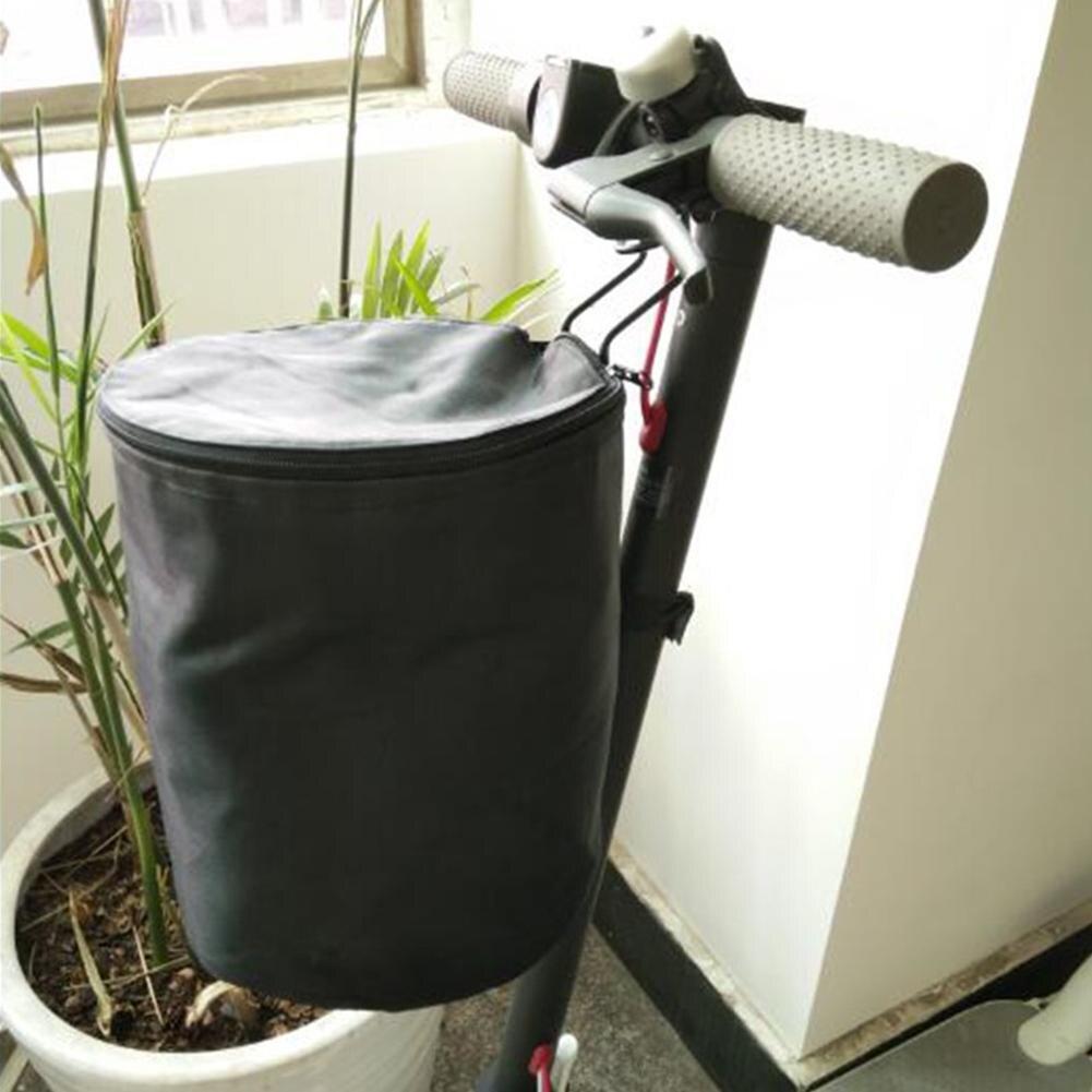 Nuevo cesto plegable para bicicleta Scooter, cesta plegable para bicicleta, bolsa para bicicleta, bolsa delantera de bicicleta, bolsa para mochila