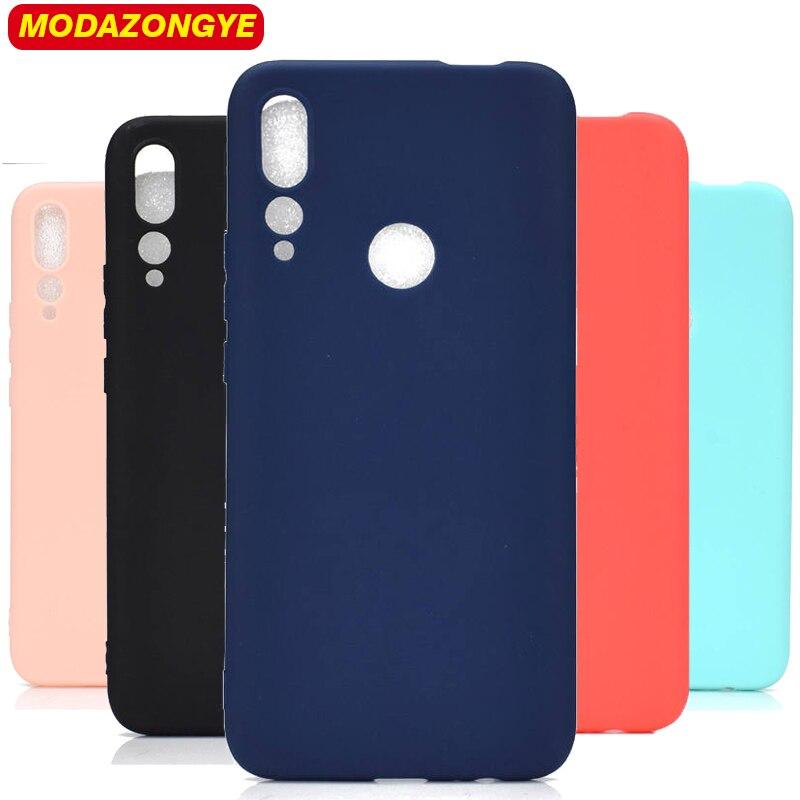 Para Huawei Y9 primer 2019 de silicona suave del teléfono del TPU del caso Y9 primer 2019 Y 9 Y9Prime 2019 STK-L21 STK-L22 STK-LX3 cubierta