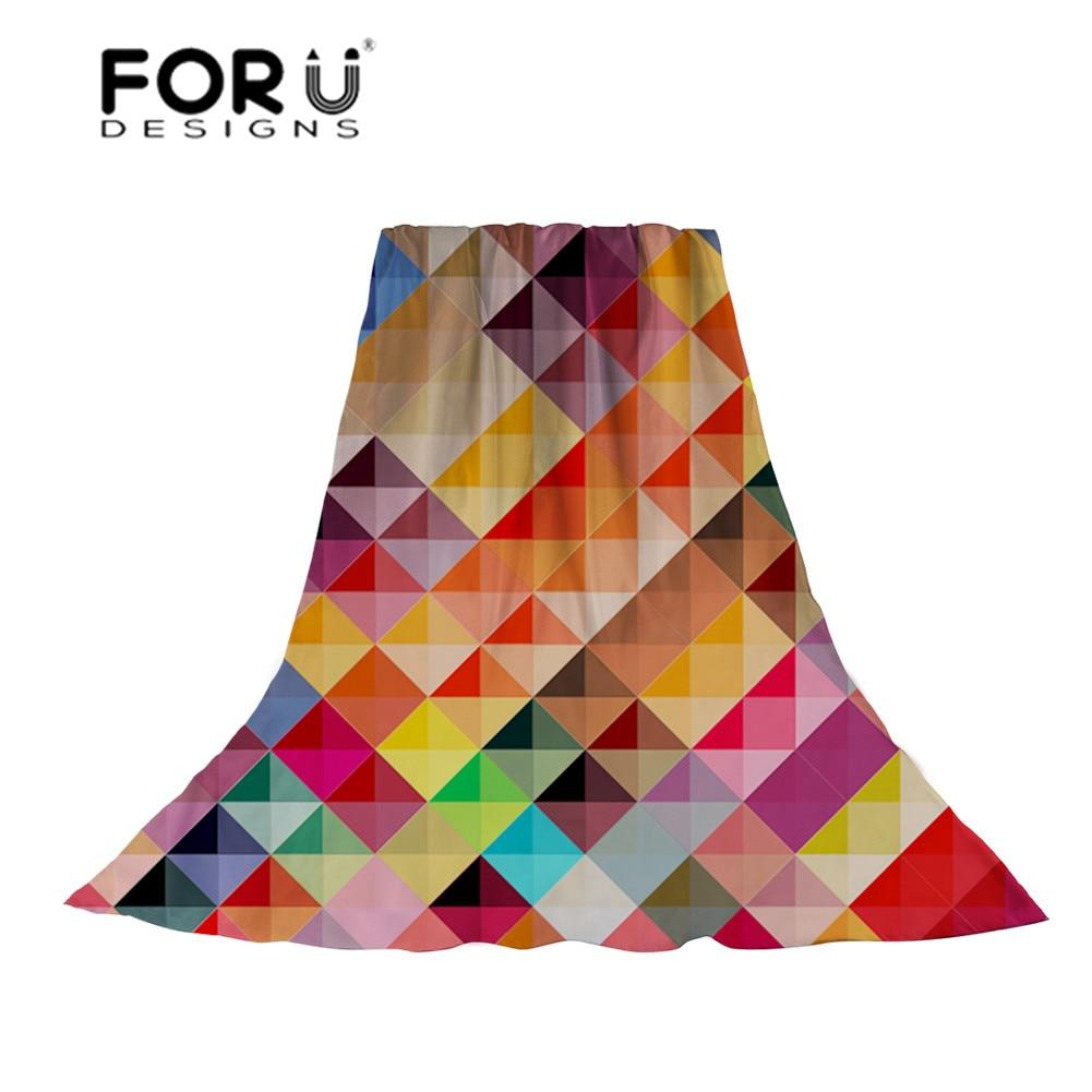 Forudiseños patrón abstracto de las mujeres bufandas de las señoras bufanda de...