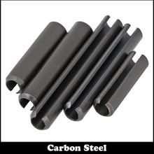 M1.5*14 M1.5x14 M1.5*16 M1.5x16 Black Zinc Plated Carbon Steel DIN1481 Parallel Dowel Split Elastic Cotter Slotted Spring Pin